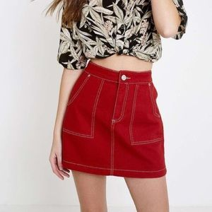 urban outfitters high waisted skirt